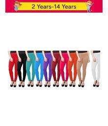 9b31bd456d Girl's Leggings & Jeggings: Buy Girls Leggings & Jeggings Online at ...