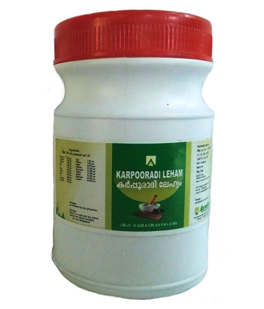 Aswini Pharmaceuticals Karpooradi Lehyam Paste 100 gm Pack Of 1