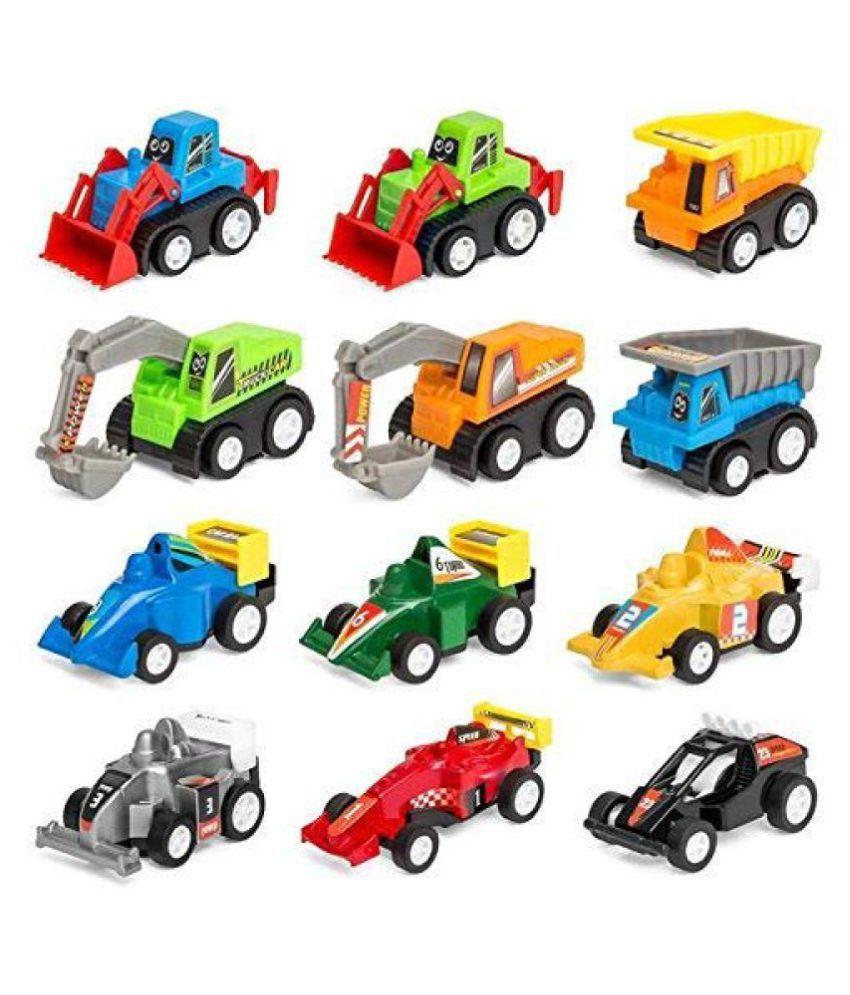 Motor Max Construction Site Playset Includes Die-Cast Dump Truck