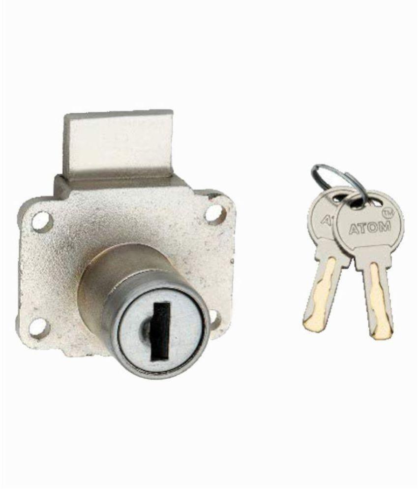 Atom Multi Drawer Lock Nickel Matte