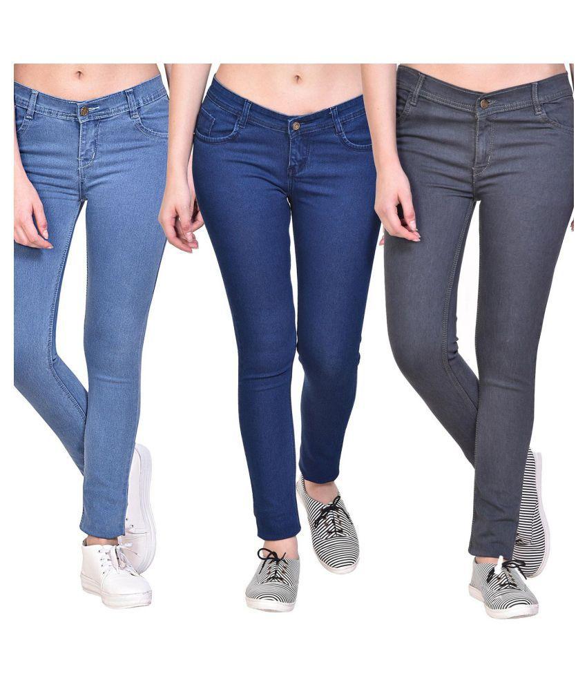 pavis Denim Jeans - Multi Color