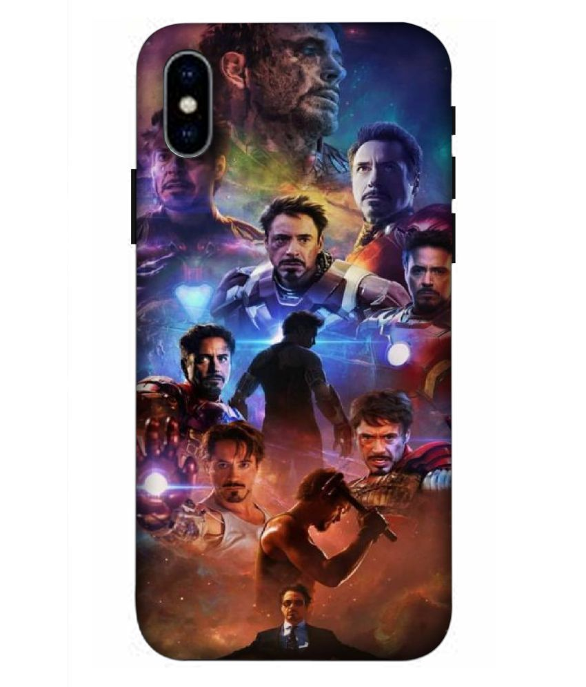 Apple iPhone XR 3D Back Covers By llavea
