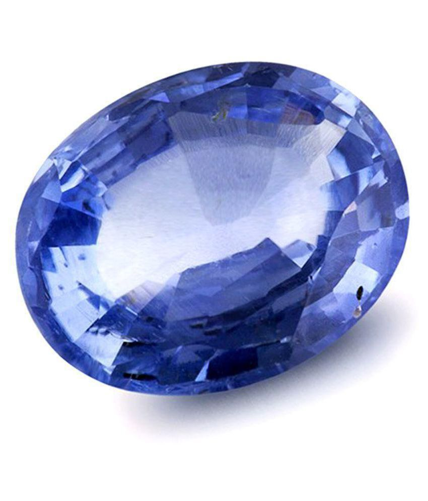 Natural 6.25 Ratti Blue Sapphire For Unisex Gemstone