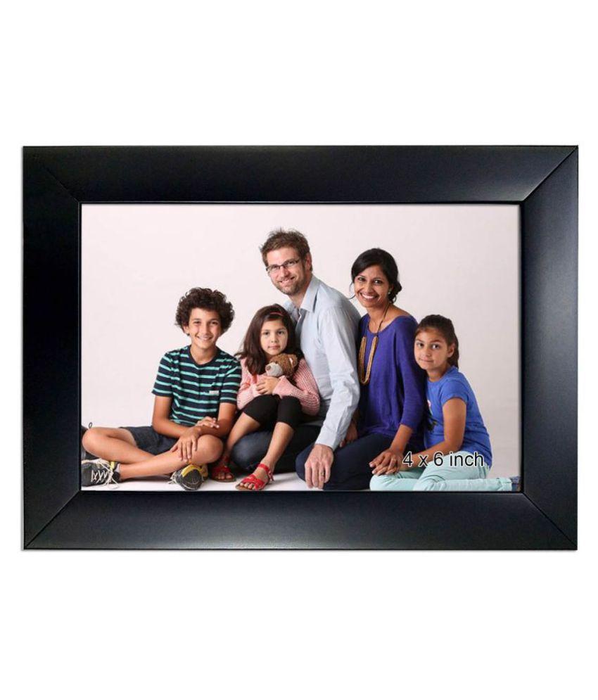 Allure Acrylic Black Single Photo Frame - Pack of 1