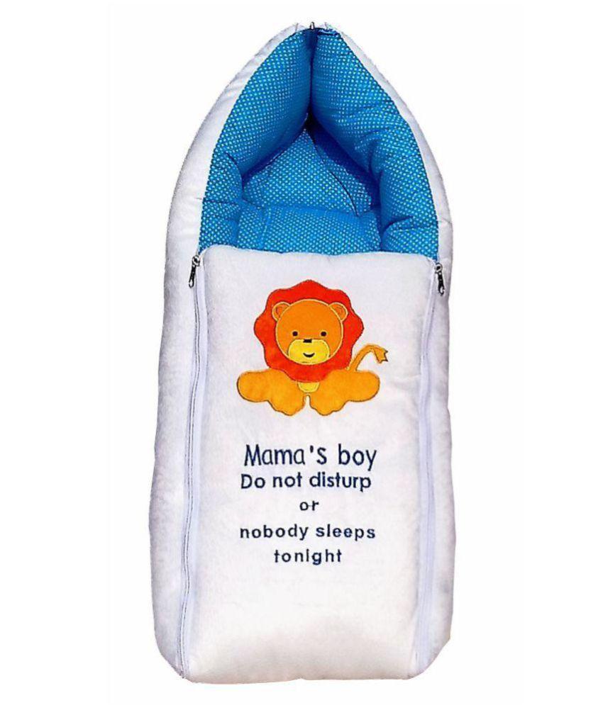 Gaurav Blue Cotton Sleeping Bags ( 64 cm × 41 cm)