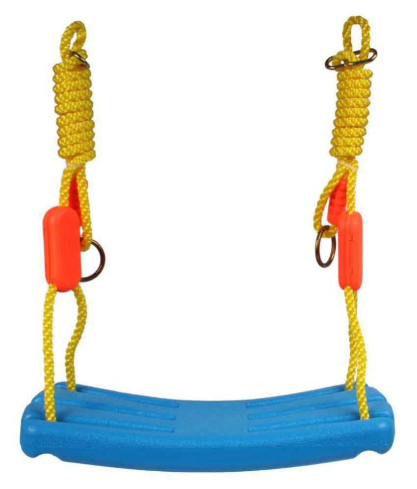 Planet of Toys Indoor Outdoor Easy To Set Up Swing Jhula Set For Kids, Children