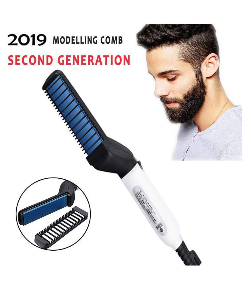 Arabic Shop Beard Straightener Hair Straightener ( Black & White )