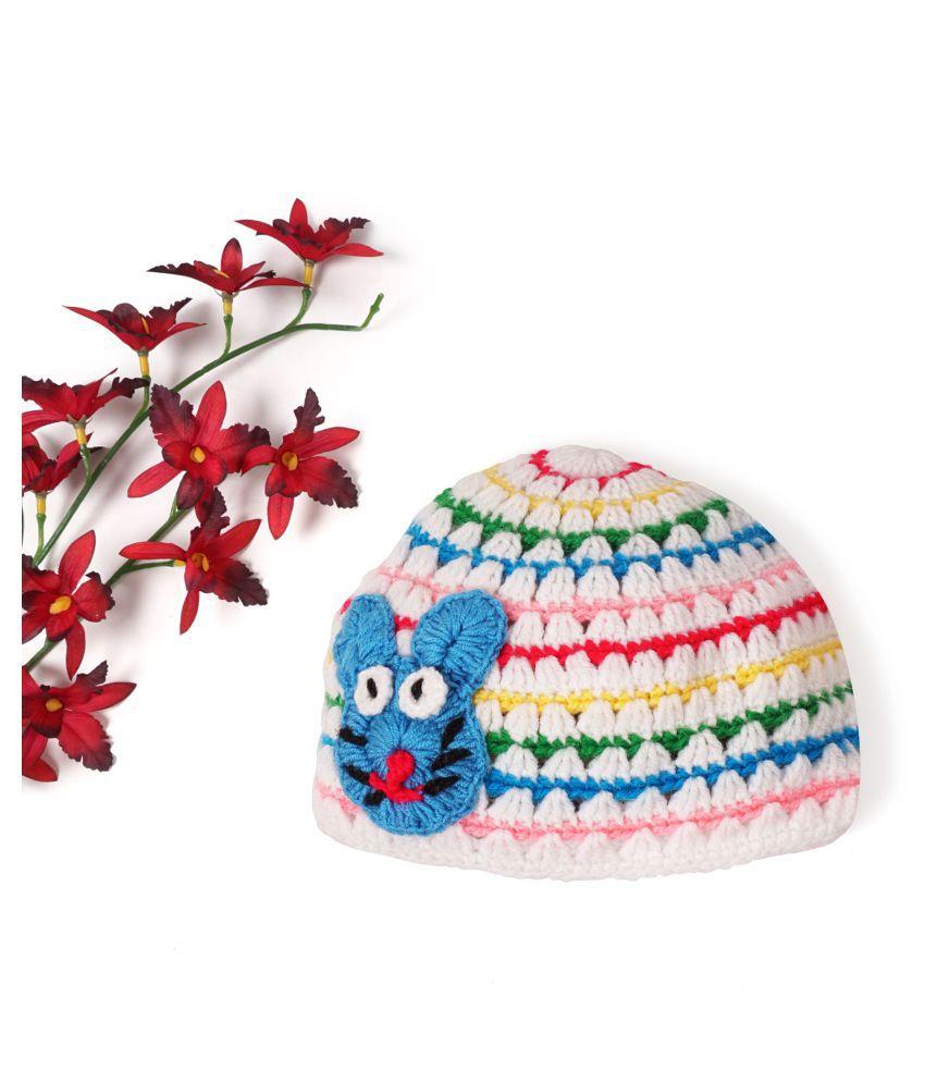CHUTPUT Multicoloured Baby Cap