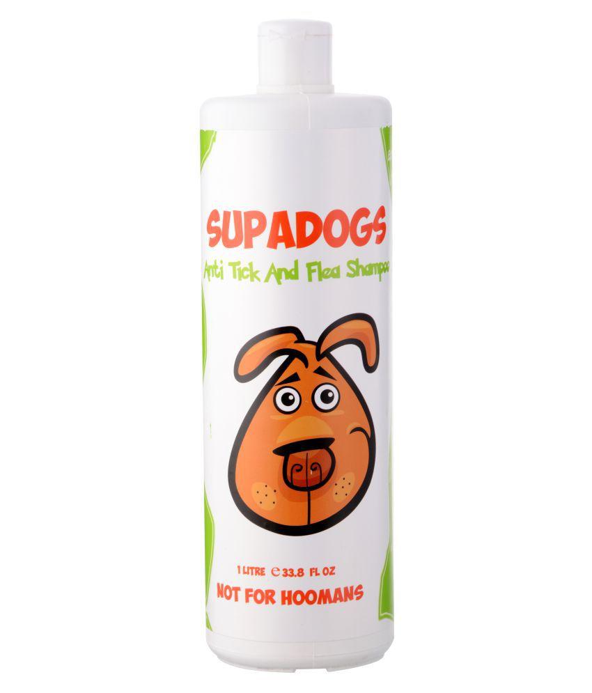 SUPADOGS Anti Tick & Flea Shampoo for Dogs 1 L