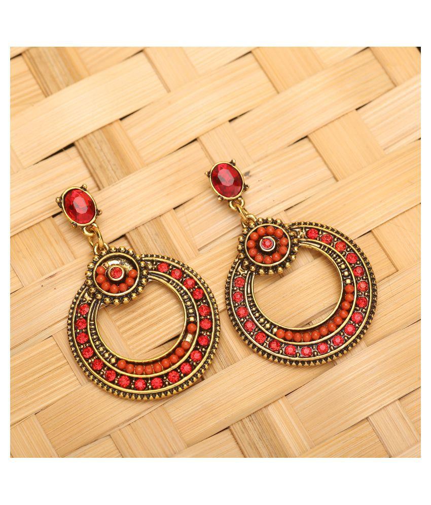 Mizorri Women's crystel drop earring