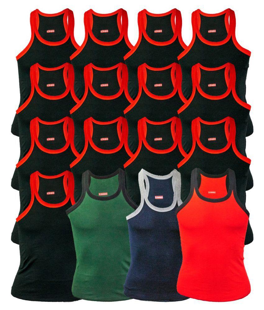 Rupa Multi Sleeveless Vests Pack of 16