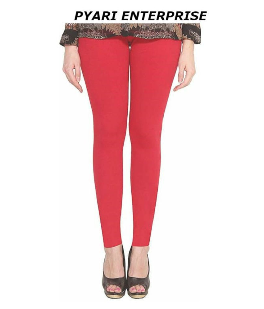 PYARI ENTERPRISE Cotton Lycra Single Leggings