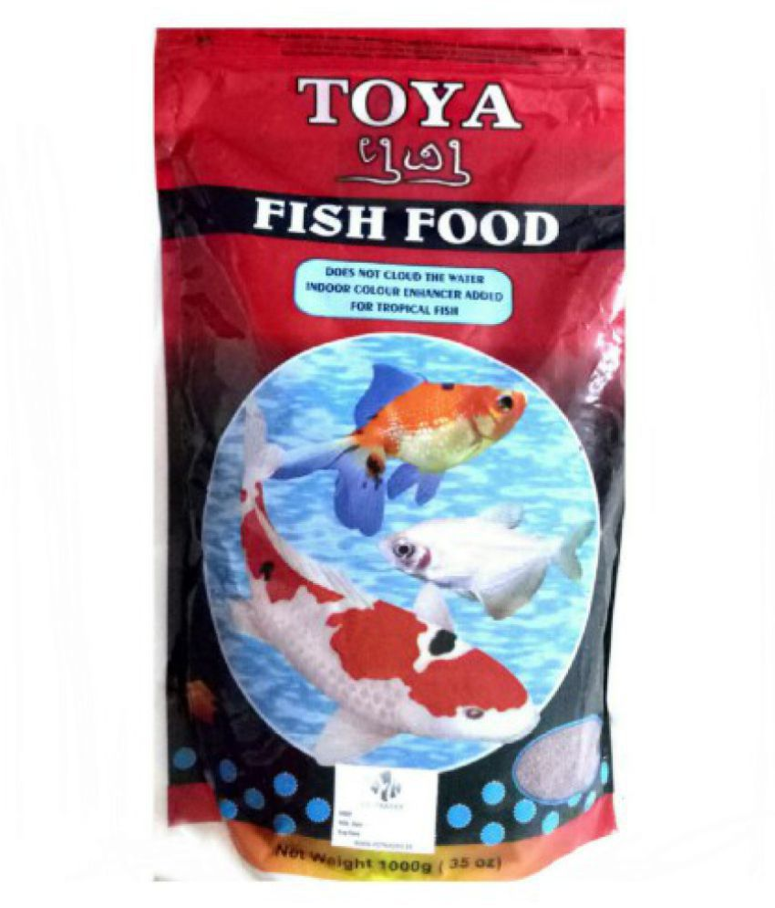 * 1 Kg TOYA FISH FOOD