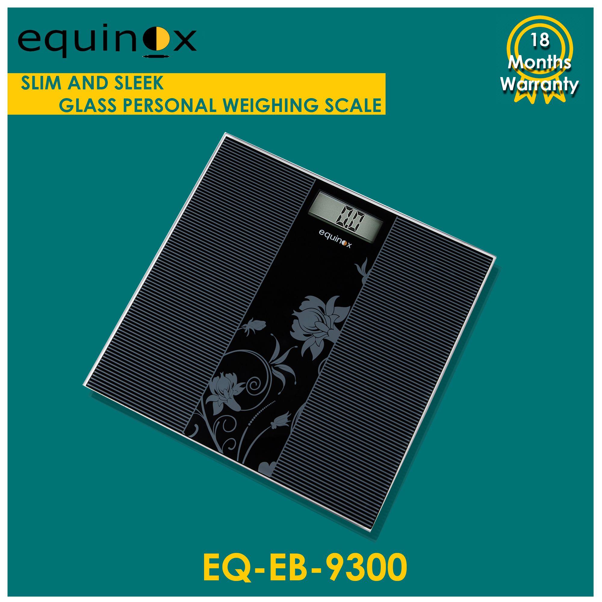 Equinox Digital Personal Weighing Scale- EQ-EB-9300