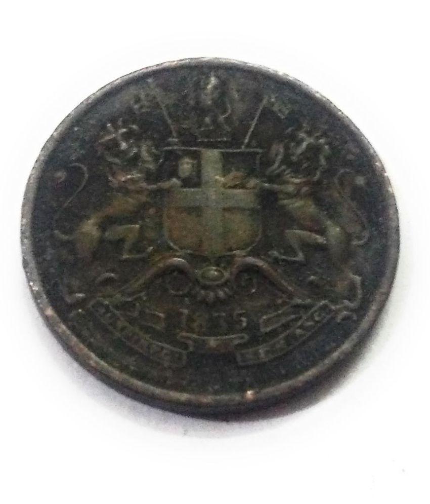 E.I.C 1/12 ANNA COIN