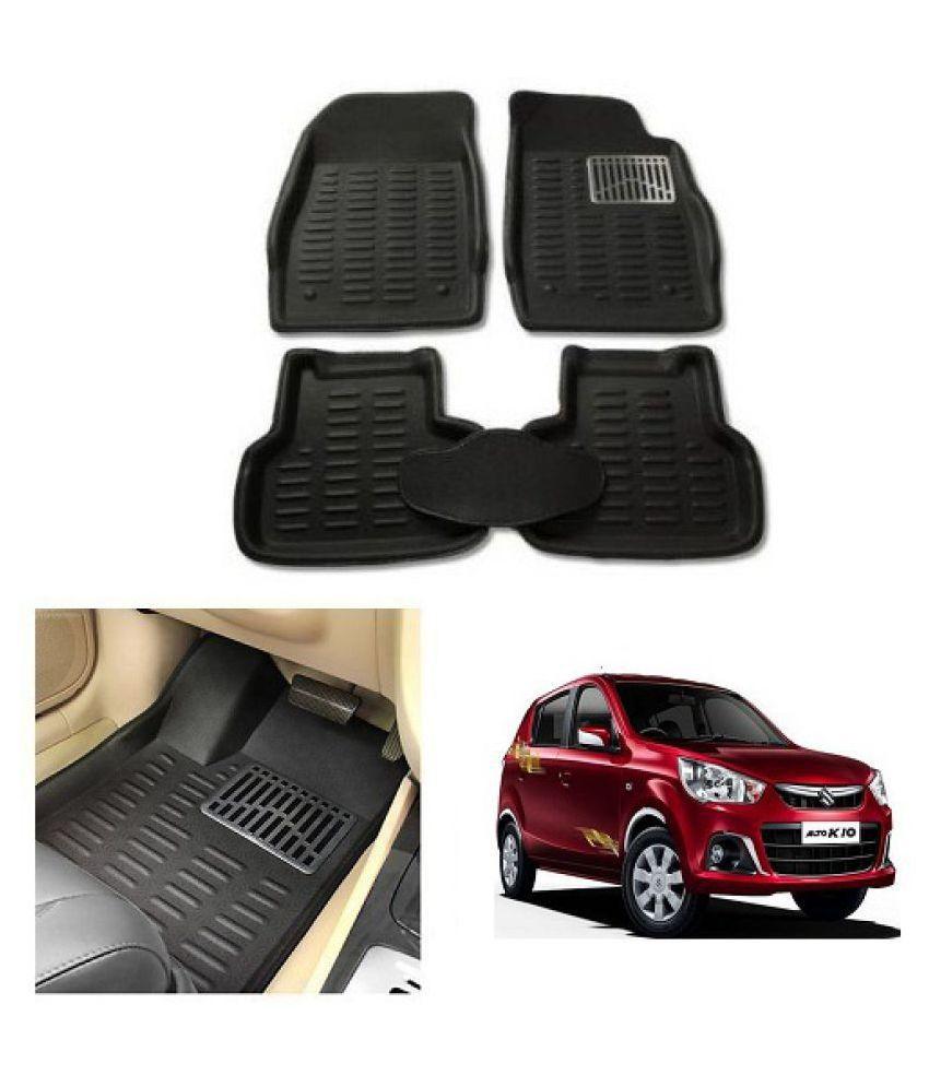 Neeb Traders Car Carpet Black Car Floor/Foot Mats for Maruti Suzuki K10 New 10-13