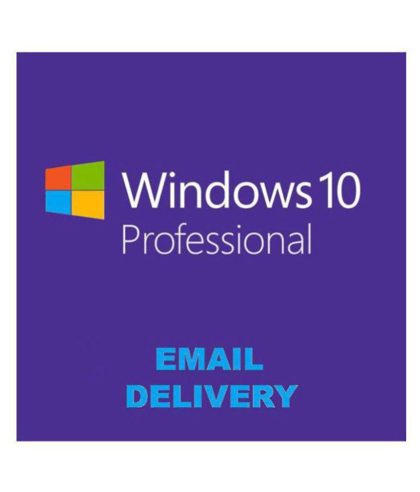 Microsoft Windows 10 Pro 32/64 Bit ( Activation Key ...