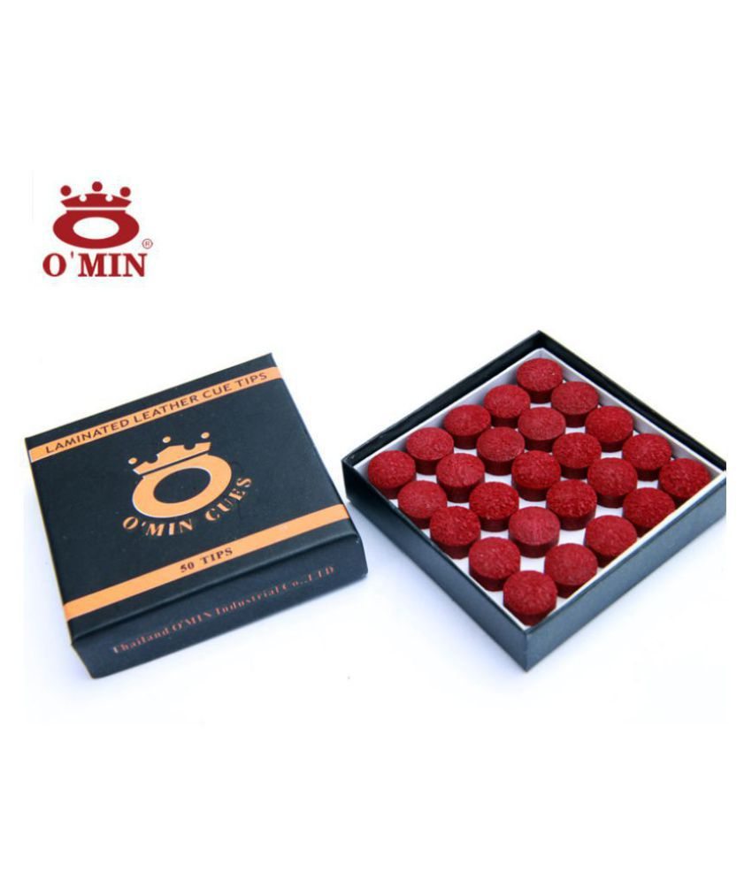 LGB Snooker & Pool Omin Cue Tip 10 mm (10 Pieces)
