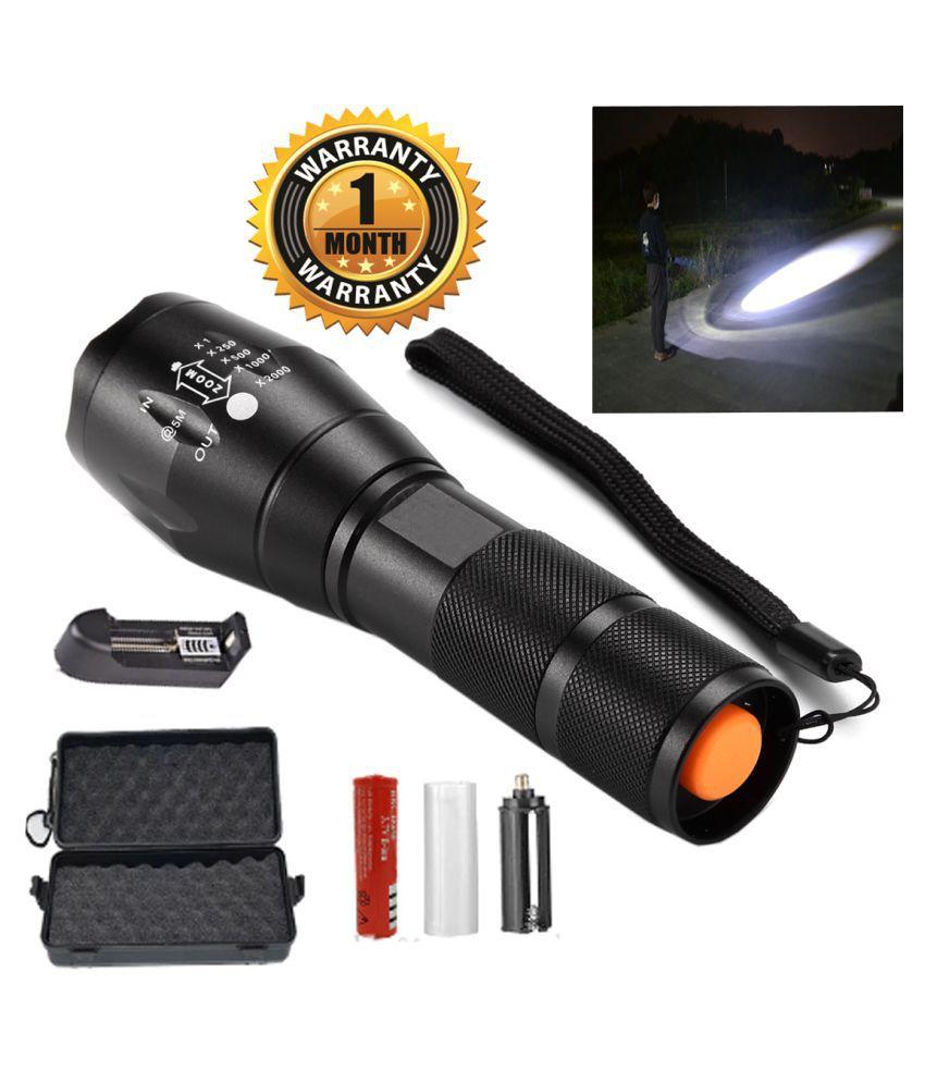 UC 12W Flashlight Torch 5 Mode Waterproof - Pack of 1