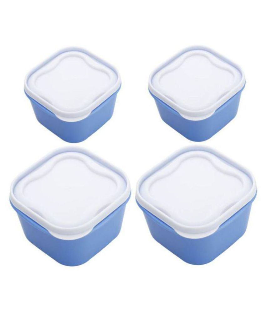 Your Choice Container Blue Polyproplene Food Container Set of 4 5000 mL