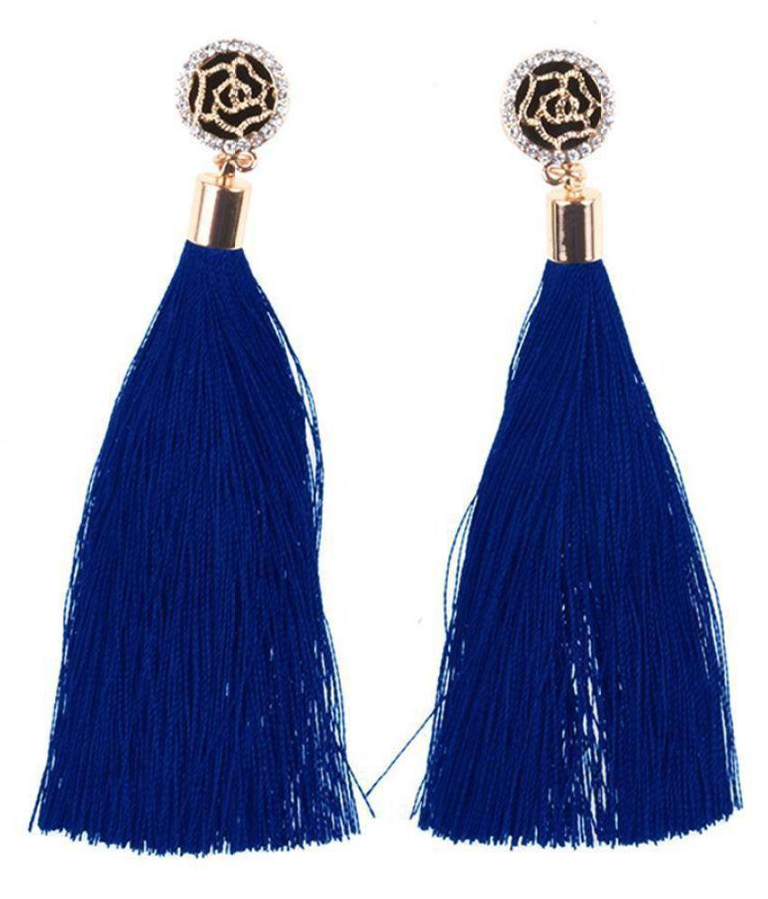 Elegant Earrings Vintage Style Long Fringe Dangle Earrings (Fashion Jewellery)