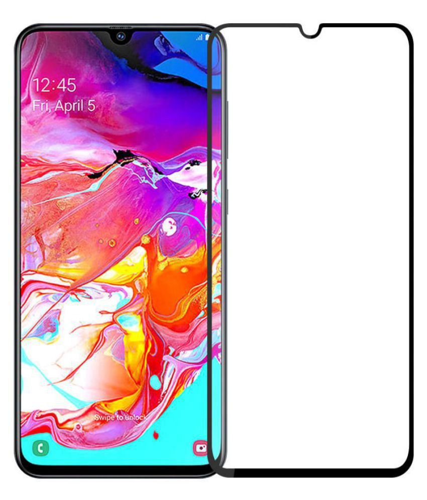 Samsung Galaxy A20 6D Screen Guard By VE - 6D TEMPERED GLASS SCREEN PROTECTOR