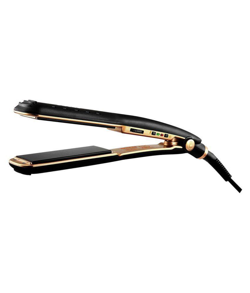 Povos POVOS PR2028 Hair Straightener ( BLACK/GOLDEN )