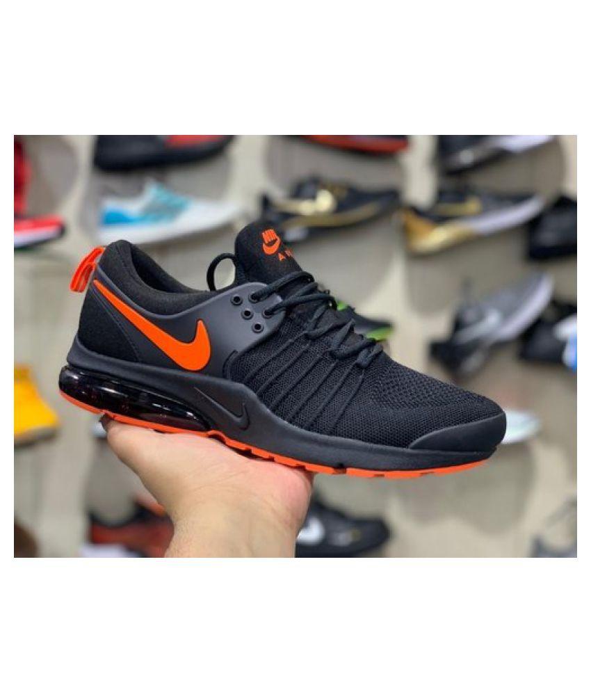 Nike Presto Tube Black Running Shoes