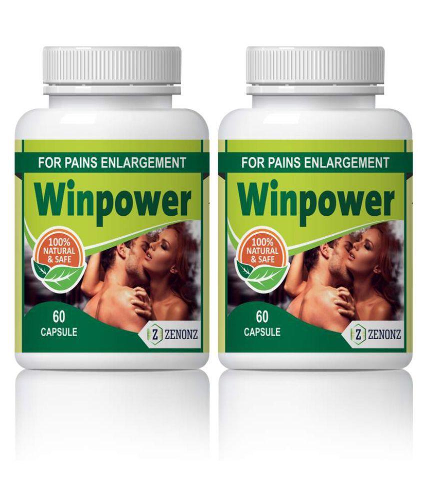 zenonz Winpower Sex Drive Increase For Men Capsule 500 mg Pack Of 2