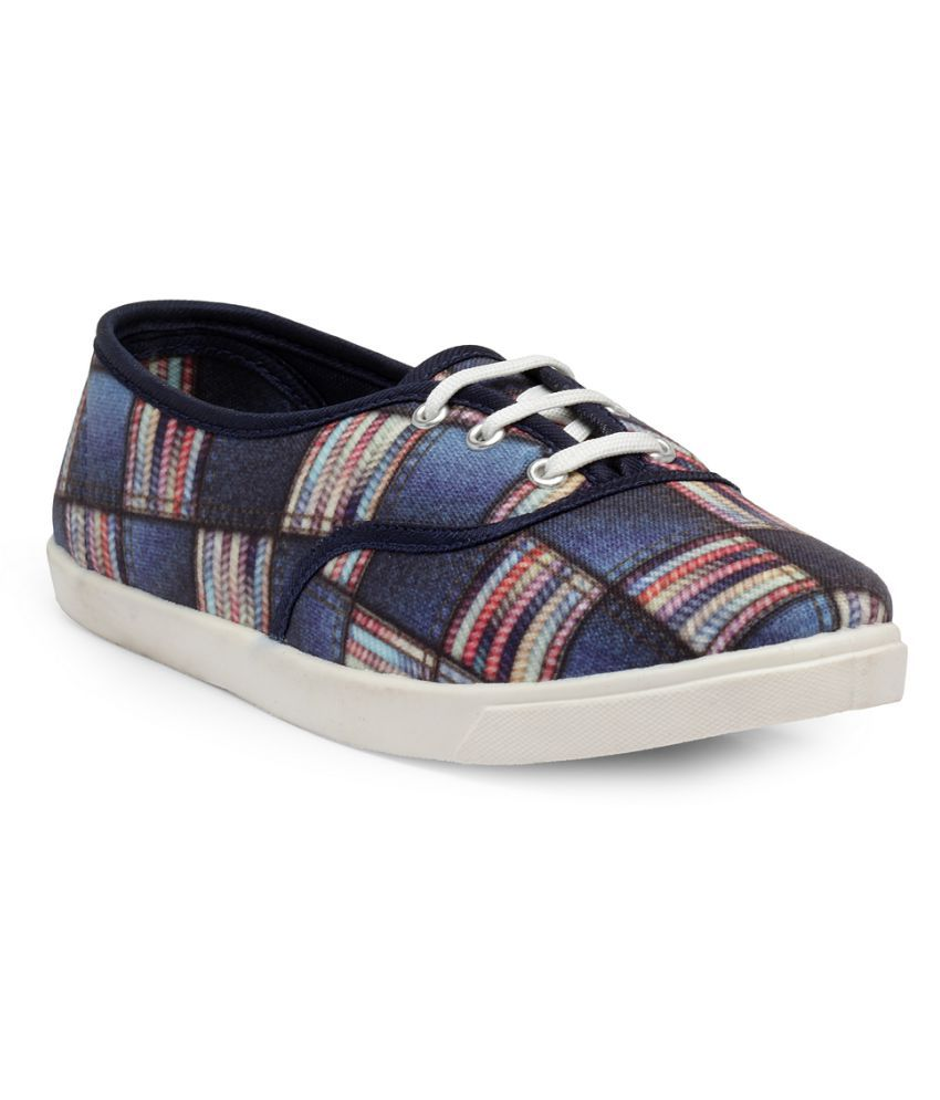 Nell Blue Casual Shoes