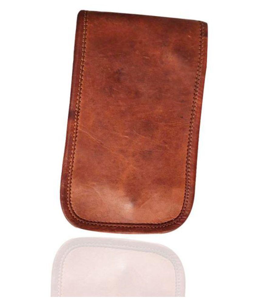 Craferia Export Brown Leather Office Messenger Bag