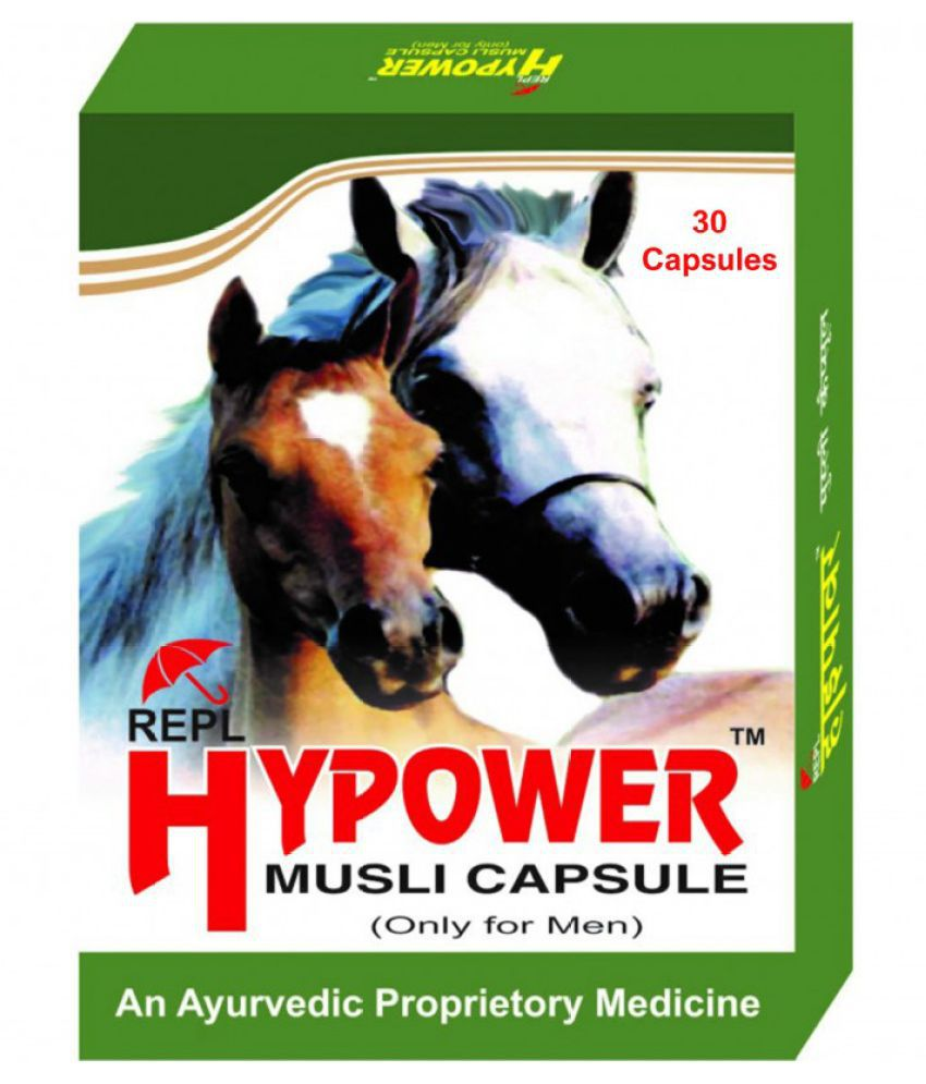 Herbal Care REPL Hypower Musli Capsule 30 no.s Pack Of 1