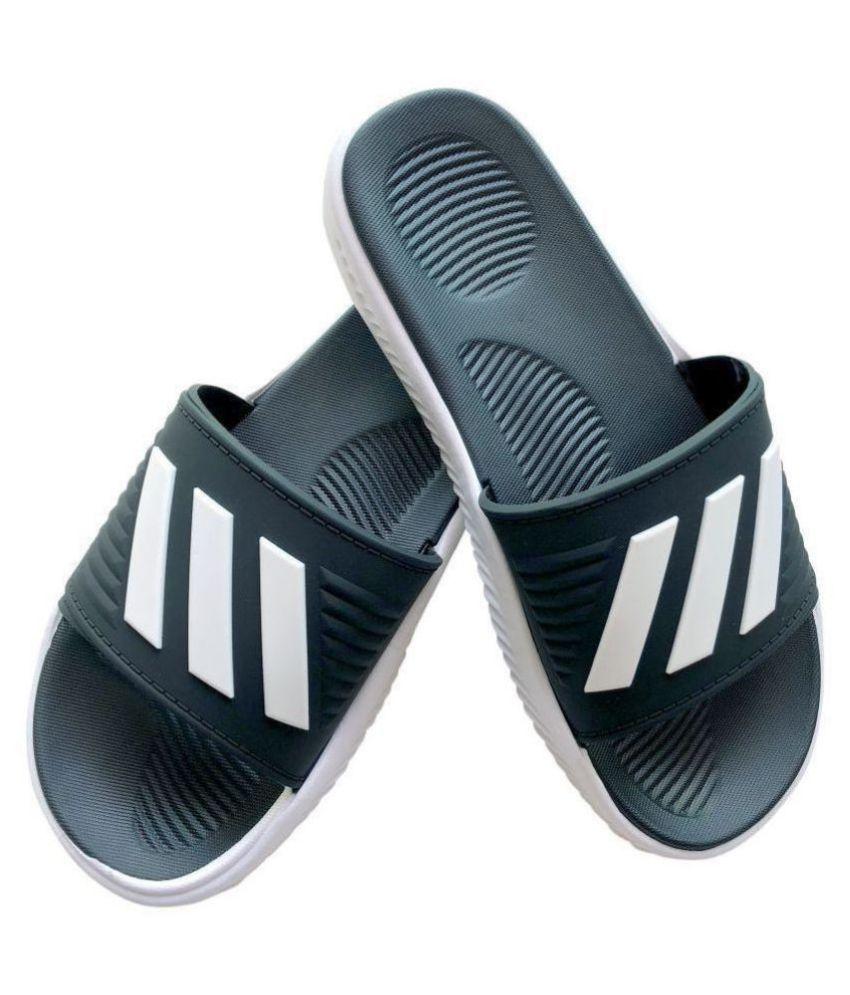 ADIDAS SLIPPER Black Slippers Price in