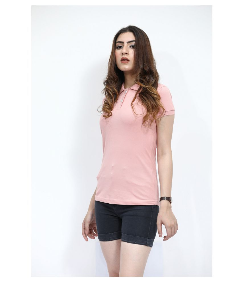BESIMPLE Pink Cotton Tees
