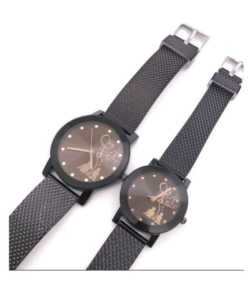 Real time king queen couple watch