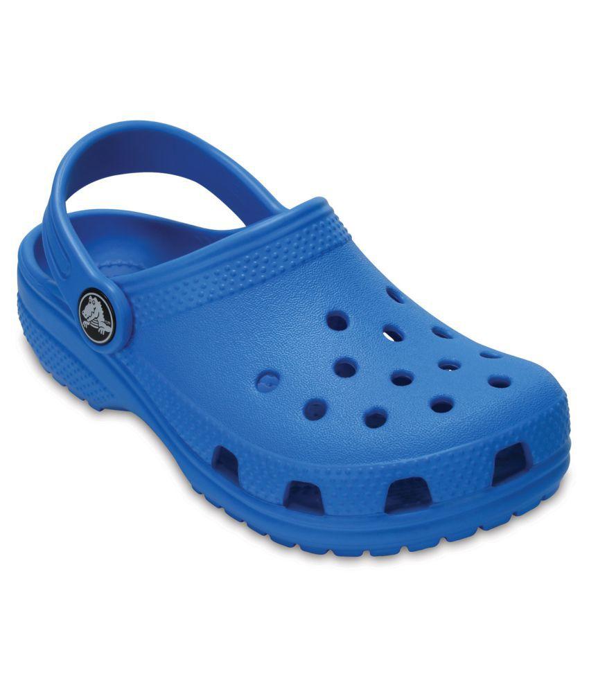 Crocs Classic Blue Kids Clog