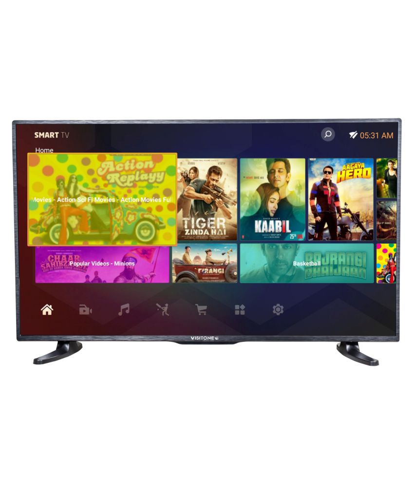 Visitone 38.5 inches 98 cm ( 38.5 ) Smart HD Ready (HDR) LED Television