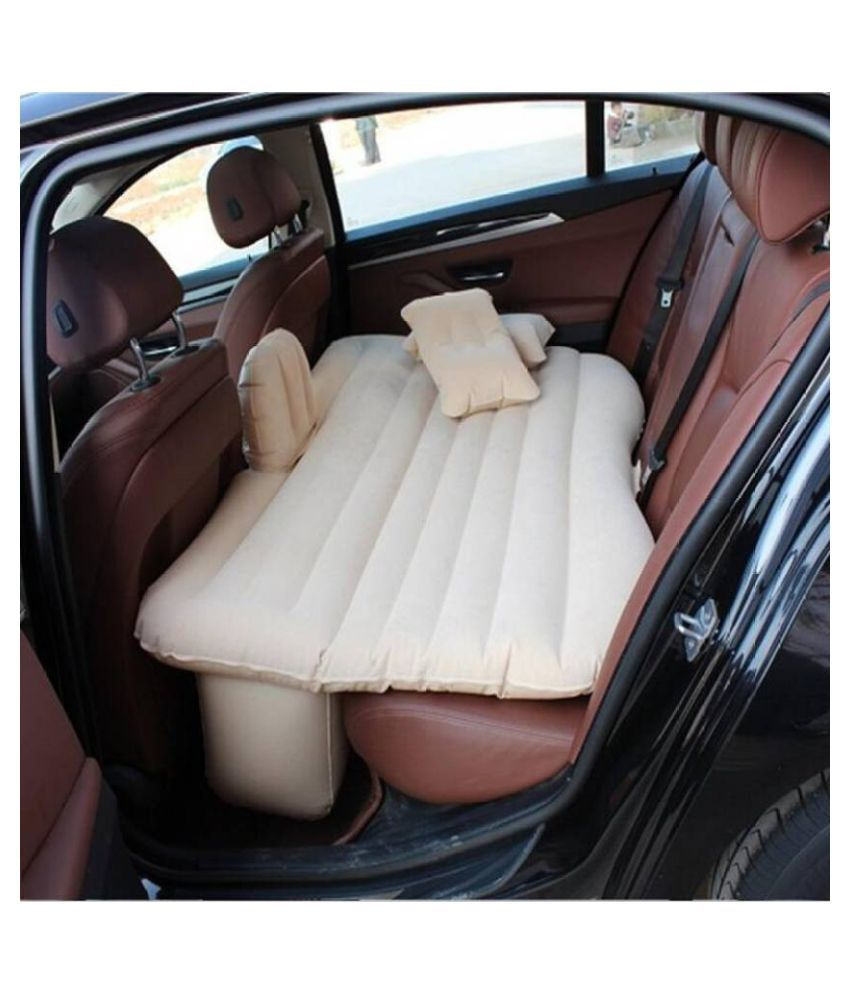 WAIT2SHOP Inflatable Beds Car for Back Seat Mattress Air Backseat Cushion Camping Travel Outdoor Rest