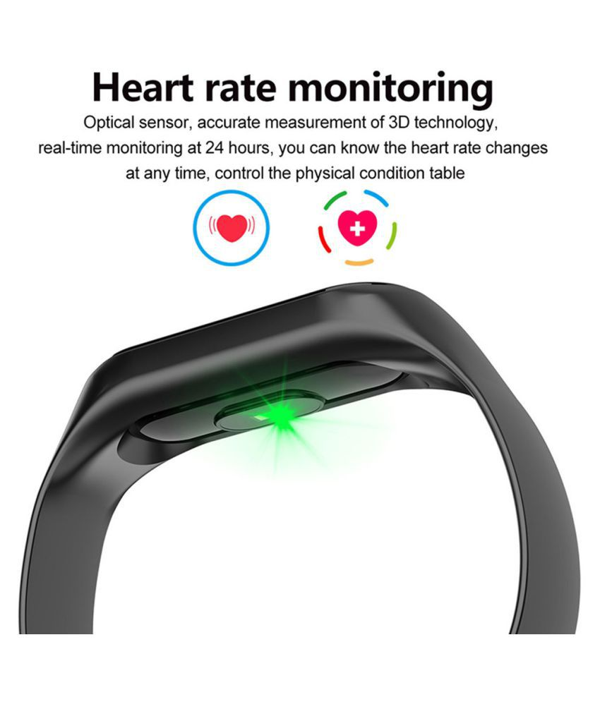 Smart Bracelet Blood Pressure Outdoor IPS Screen Heart Rate Monitor Life Waterproof Smart Wristbands