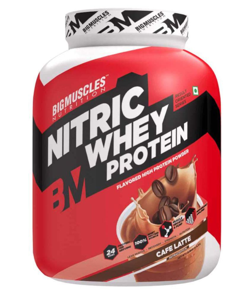 BIGMUSCLES NUTRITION Nitric Whey Protein Cafe Latte 2 kg