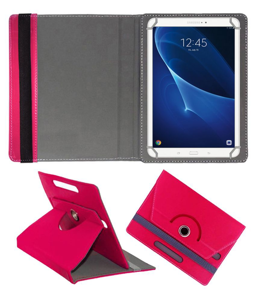 Samsung Galaxy Tab 10.1 Flip Cover By FASTWAY Pink