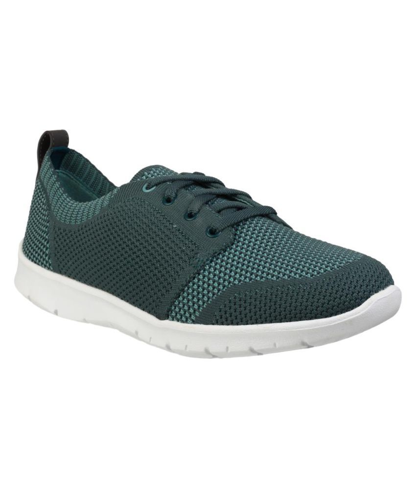 Clarks Green Casual Shoes