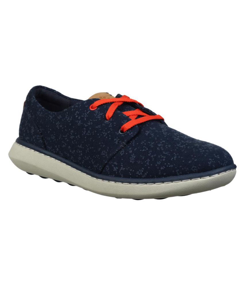 Clarks Navy Casual Shoes