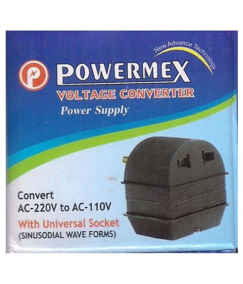 Powermex 50 W 220 to 110V Step-Down Voltage Converter Transformer Based