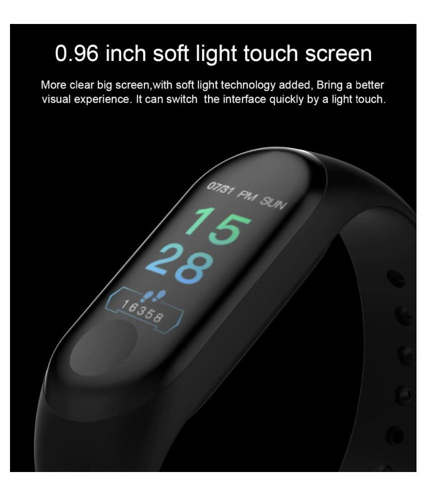 Fitness Activity Tracker for Men Women Kids Watch  Smart Bracelet Blood Pressure Spo2 Heart Rate Monitor
