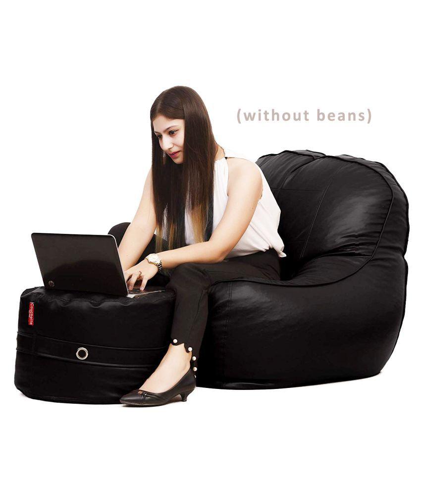 Couchette Jumbo Premium Chaise Lounge Chair Bean Bag Cover