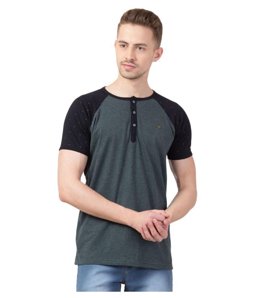 Corsair 100 Percent Cotton Grey Solids T-Shirt