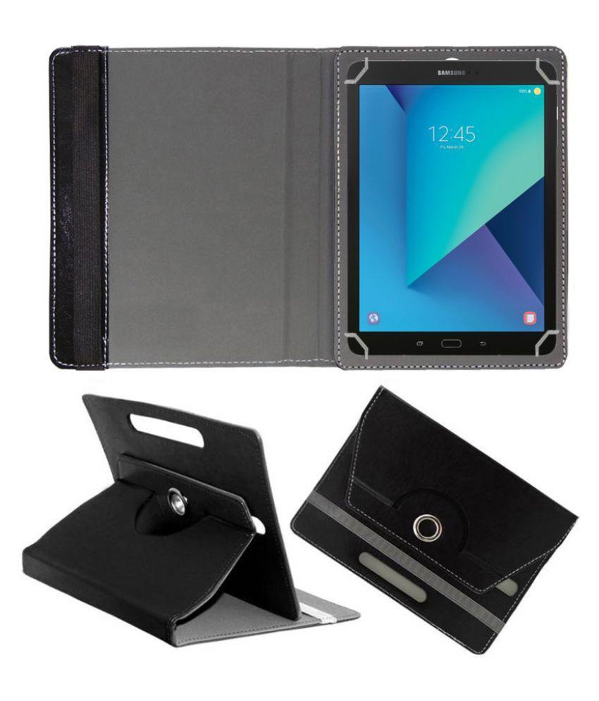Universal 25.65 cm(10.1) 25.4 cm(10) Any Tab Flip Cover By FASTWAY Black
