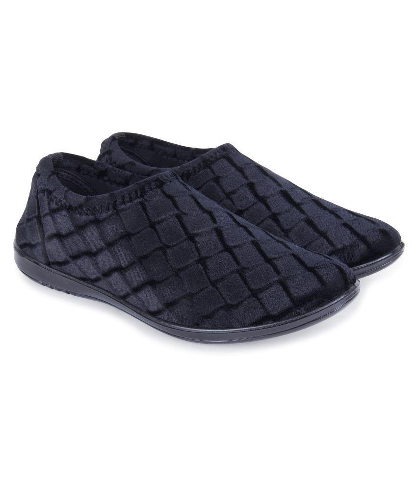 PU-SPM Black Casual Shoes