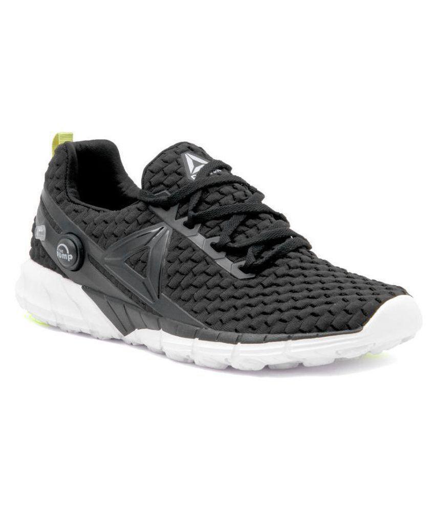 separation shoes 6b5be c9f7e Reebok FLOATRIDE RUN Black Running Shoes